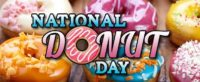 National Doughnut Day Wallpaper 3