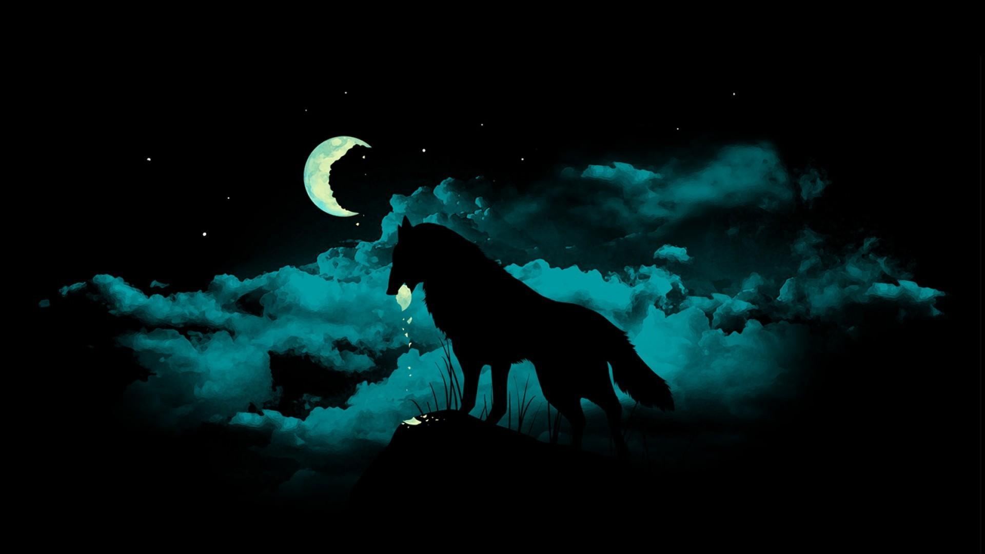 Night Wolf Wallpaper