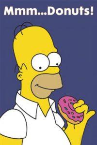 Simpson Donut Wallpaper