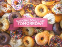 Tomorrow National Donut Day Wallpaper