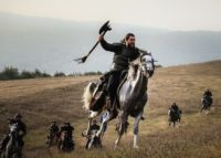 Turgut Alp on Horse