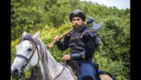 Turgut Alp on Horse Wallpaper