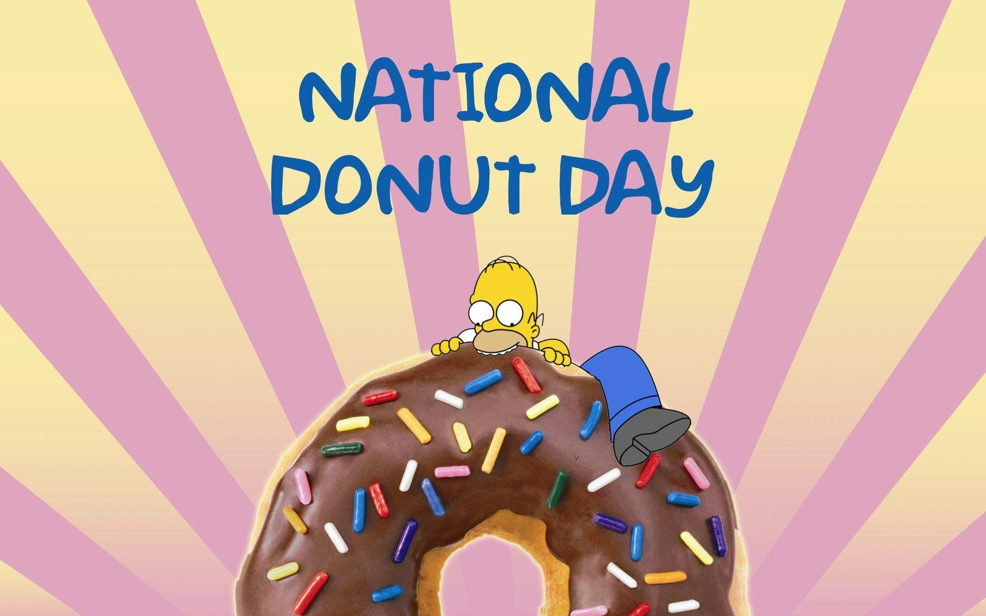 Wallpaper National Donut Day