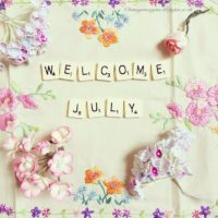 Welcome July Poster