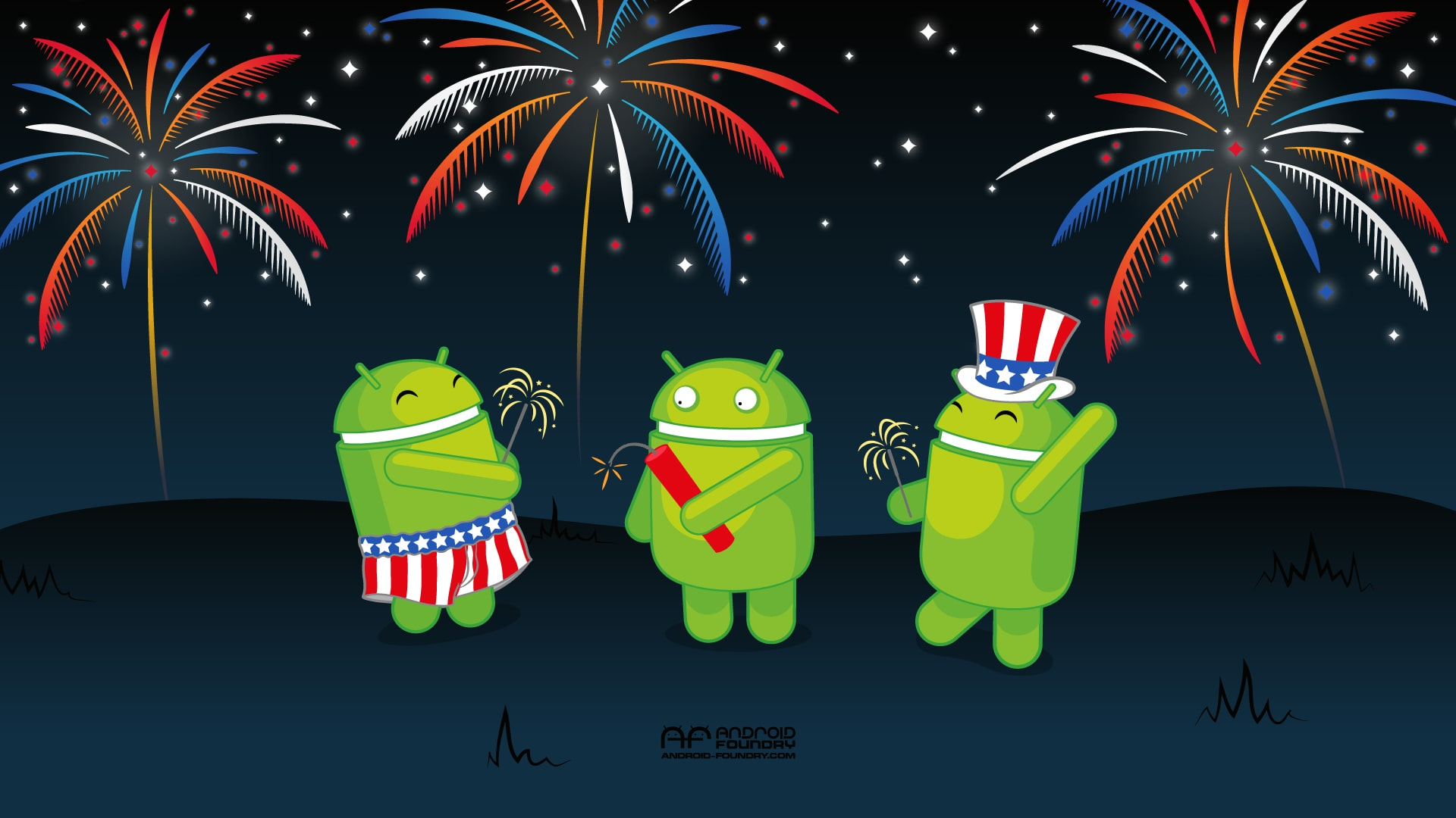 4th of July Android Wallpaper