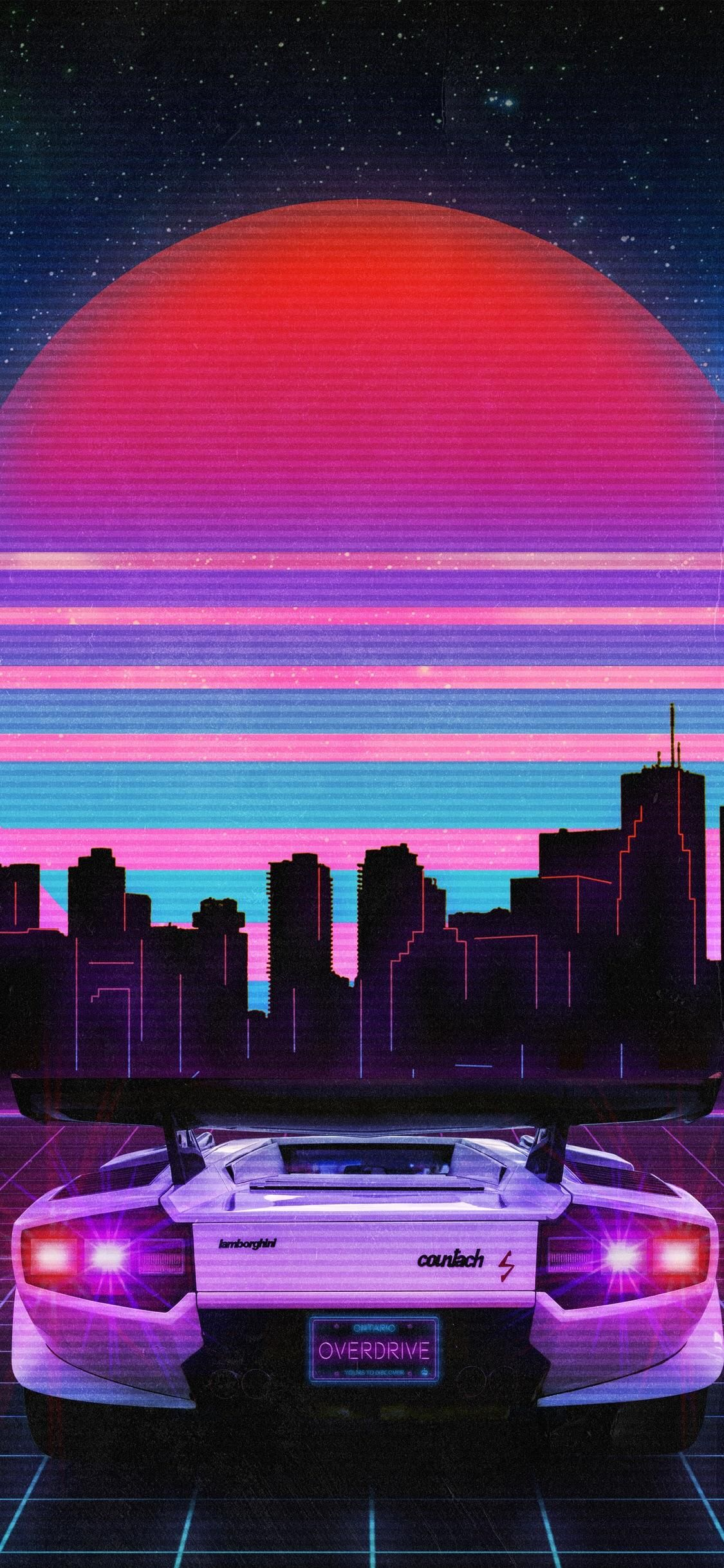 Aesthetic Vaporwave Wallpaper