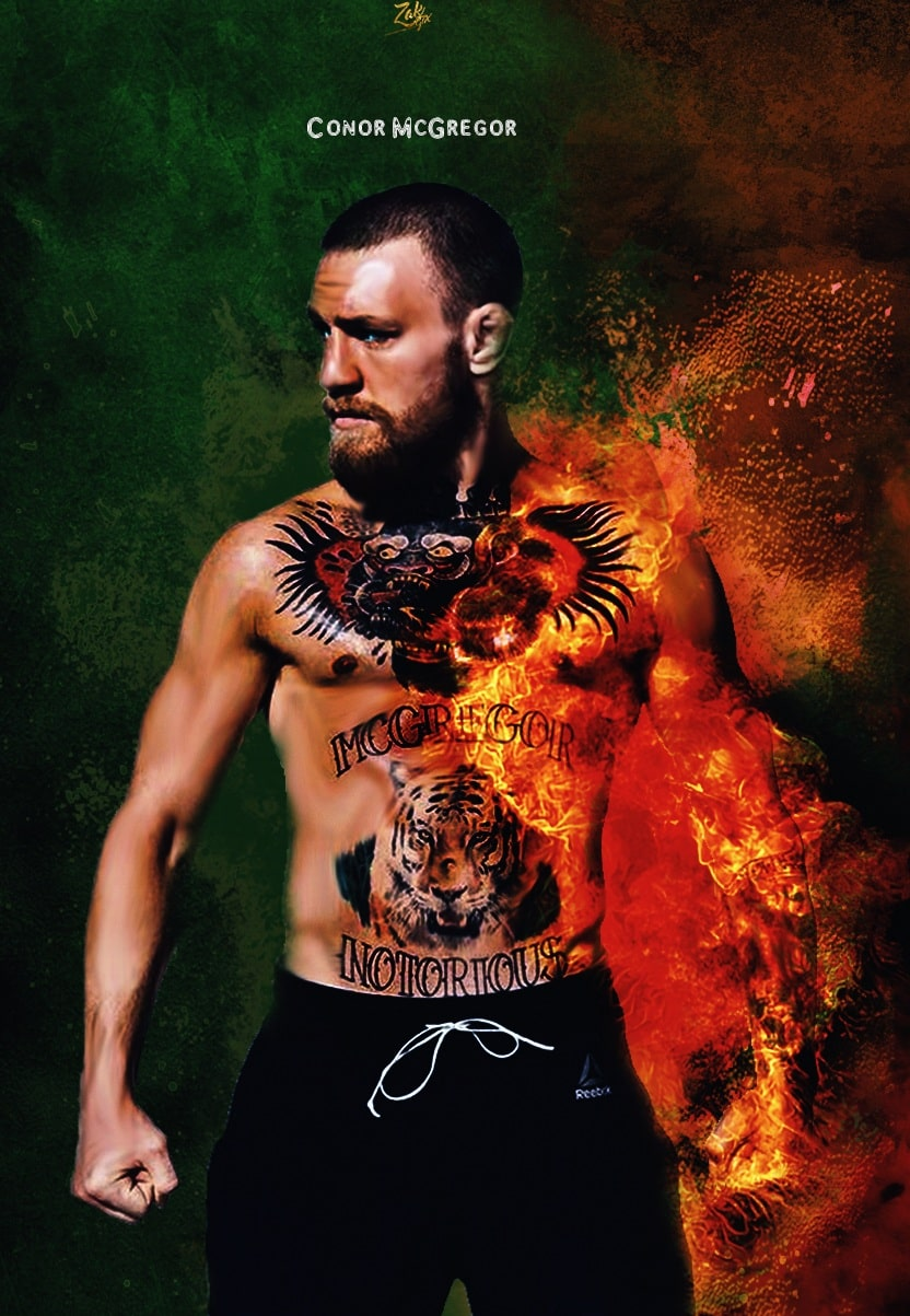 Conor McGregor Iphone Background