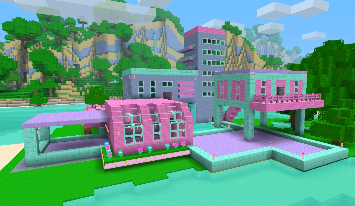 Girly Minecraft Wallpaper