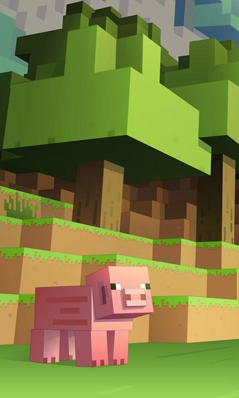 Iphone Minecraft Wallpaper 2