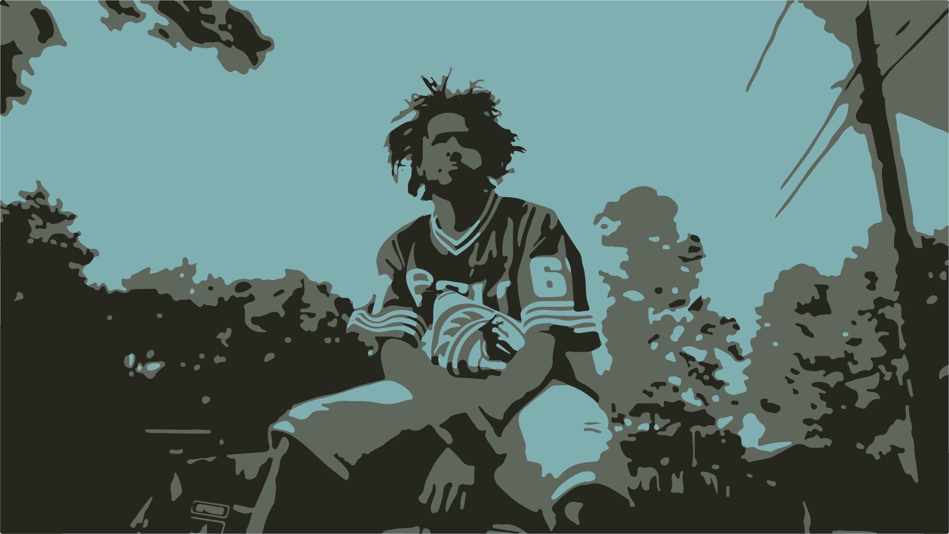 J Cole Desktop Wallpaper