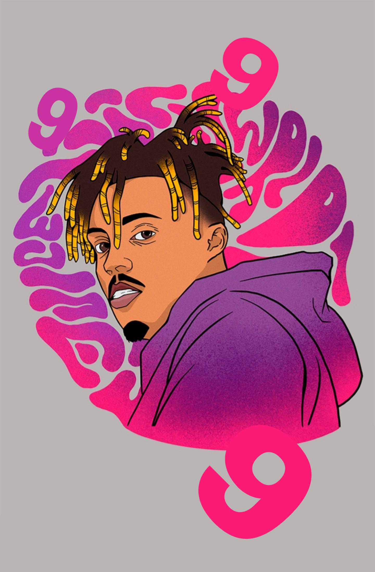 Juice Wrld 999 Iphone Wallpapers Kolpaper Awesome Free Hd