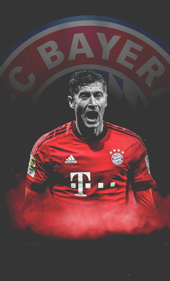 Lewandowski Bayern Munchen Wallpaper
