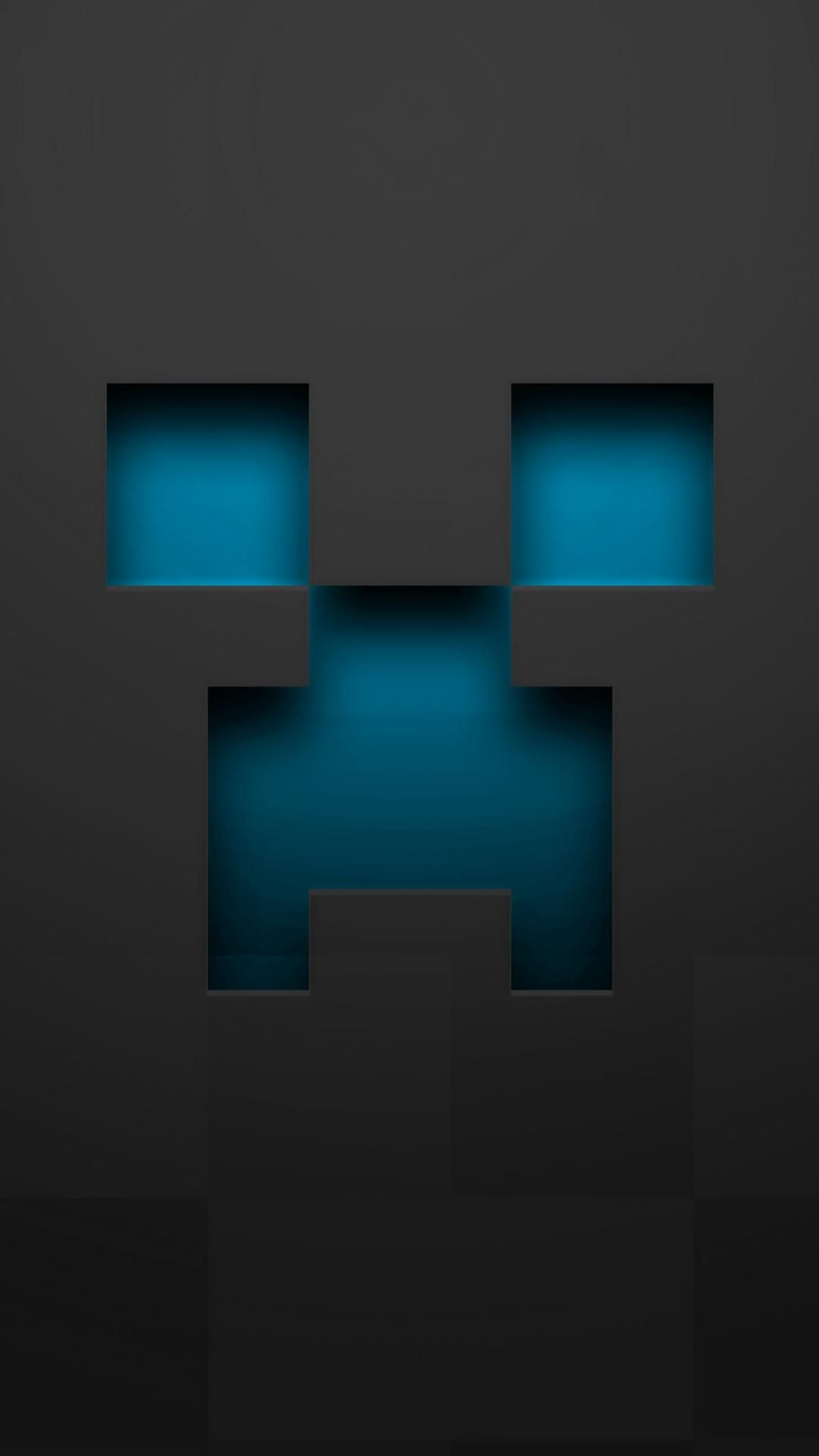 Minecraft Black Wallpaper