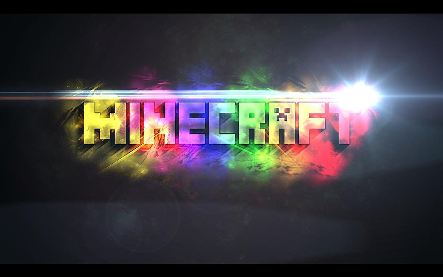 Minecraft Colorful Wallpaper
