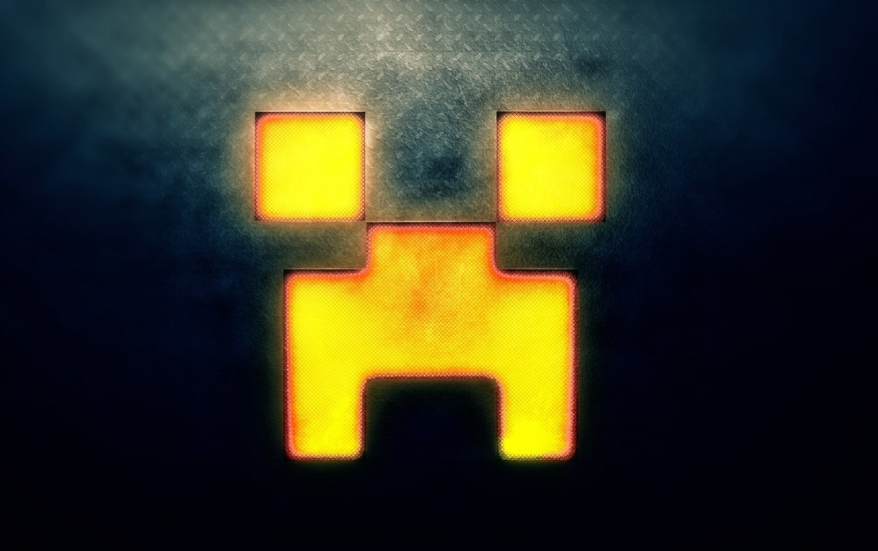 Minecraft Creeper Background Kolpaper Awesome Free Hd Wallpapers