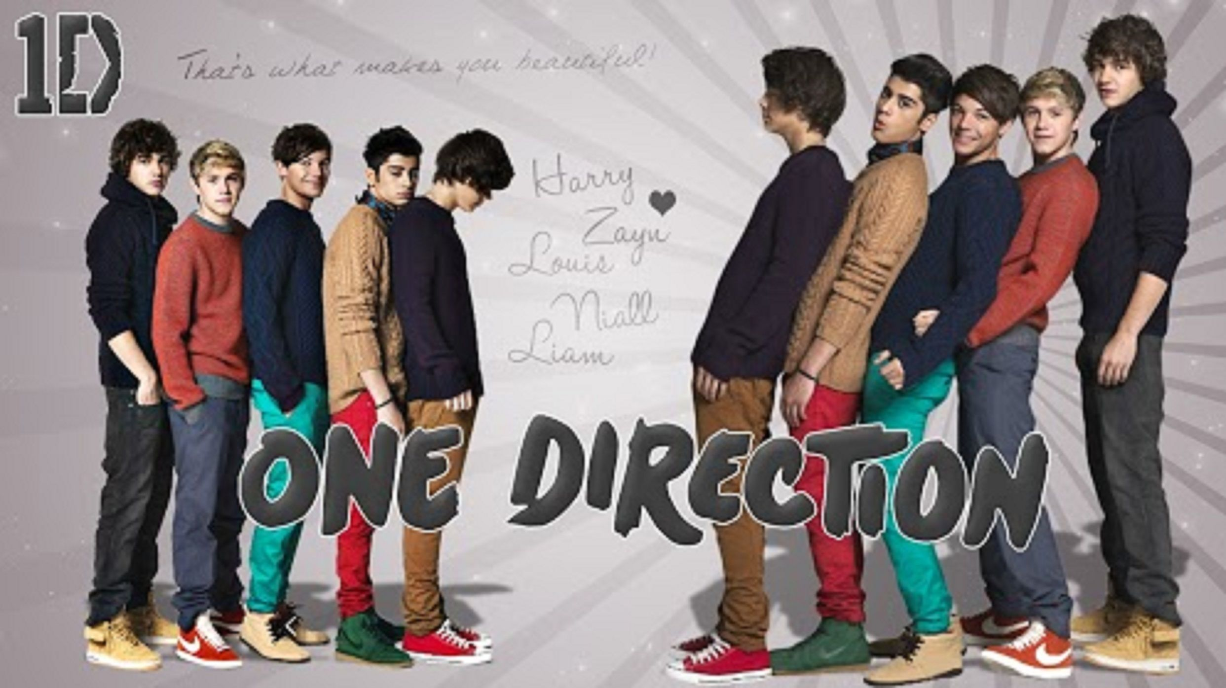 One Direction Desktop Wallpaper