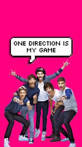 One Direction Game Wallpaper