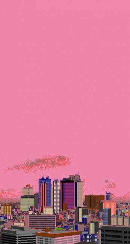 Vaporwave City Wallpapers