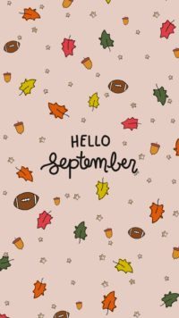 Hello September Iphone Wallpapers