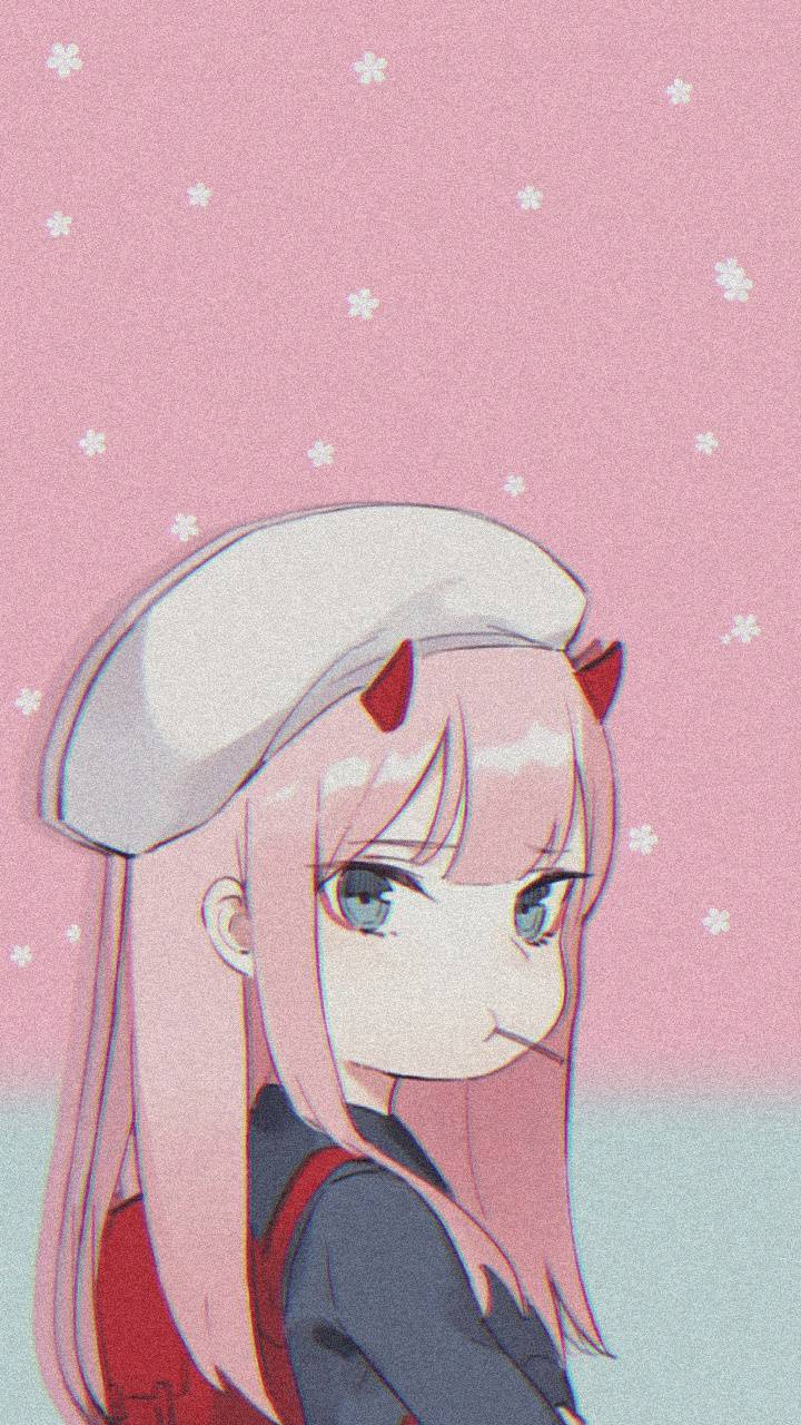 Iphone Zero Two Wallpaper
