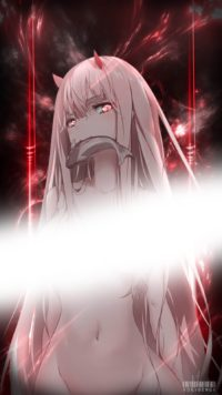 Zero Two Iphone Wallpaper 2