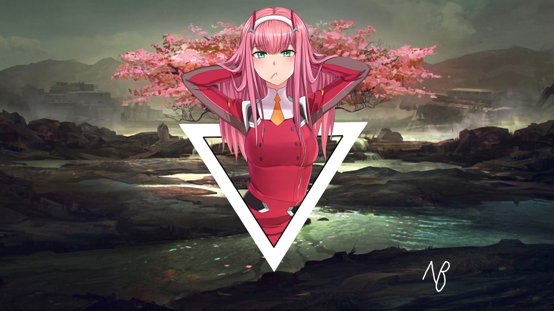 Zero Two Wallpapers Hd Kolpaper Awesome Free Hd Wallpapers Posts must be related to darling in the franxx. zero two wallpapers hd kolpaper