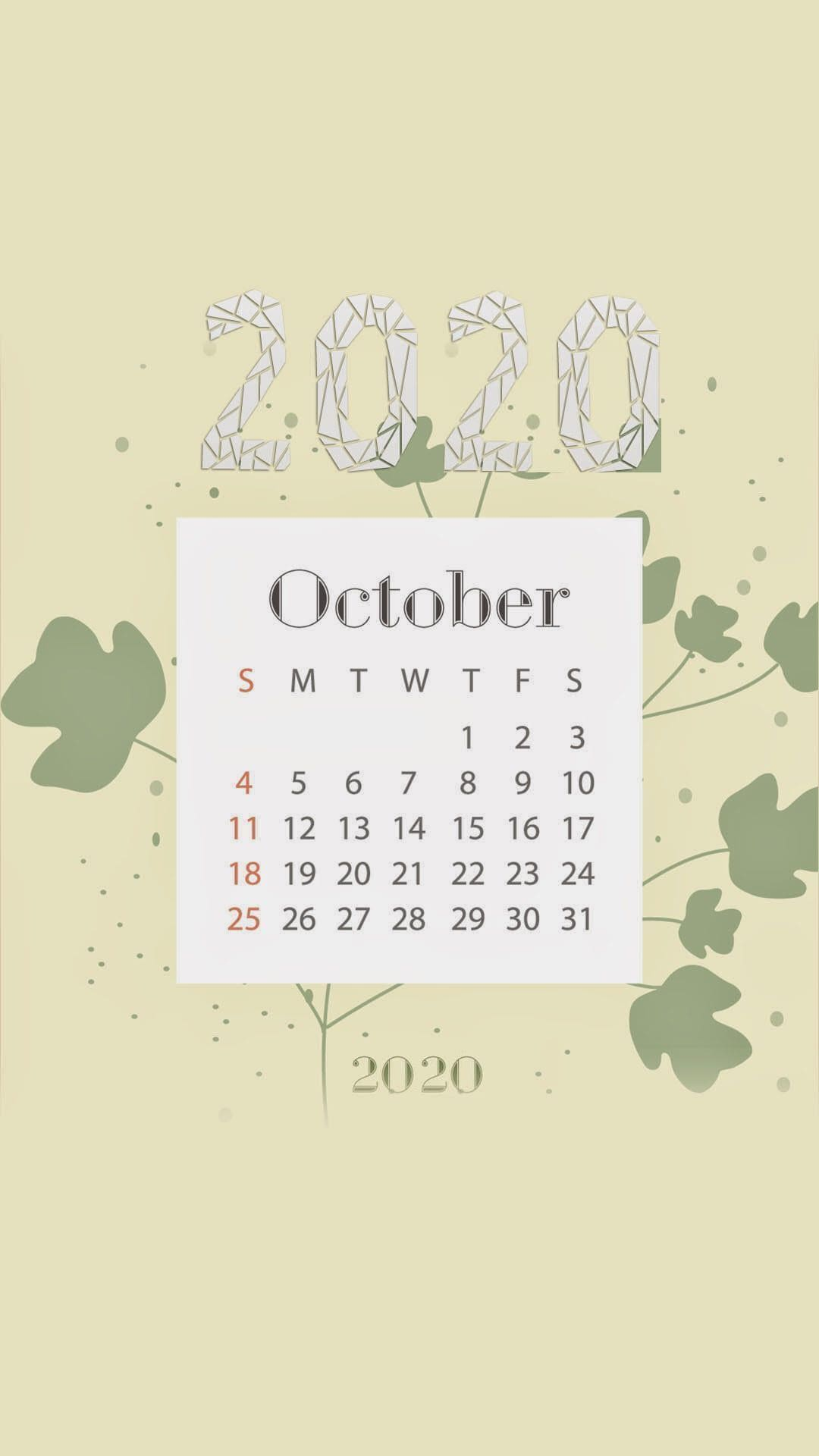 2020 October Calendar Wallpaper Kolpaper Awesome Free Hd Wallpapers