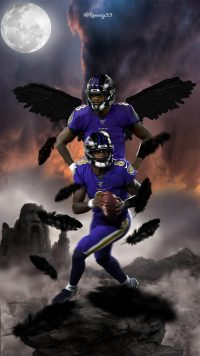 Android Lamar Jackson Wallpaper