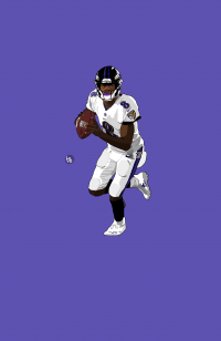 Baltimore Lamar Jackson Wallpaper