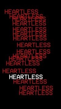 Black and Red Heartless Wallpaper