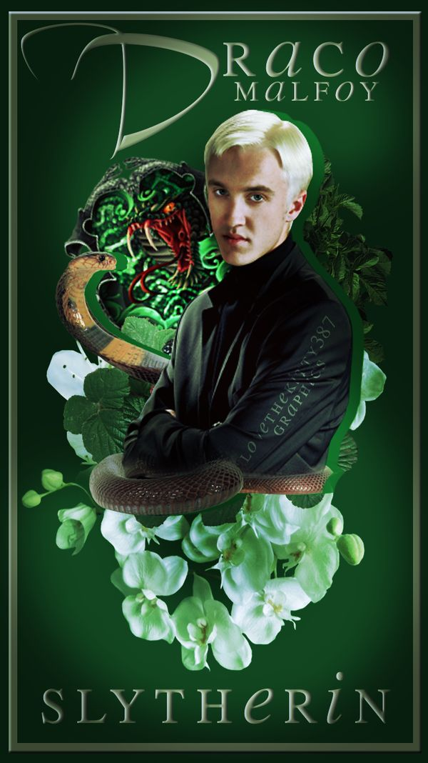 Draco Malfoy Slytherin Wallpapers