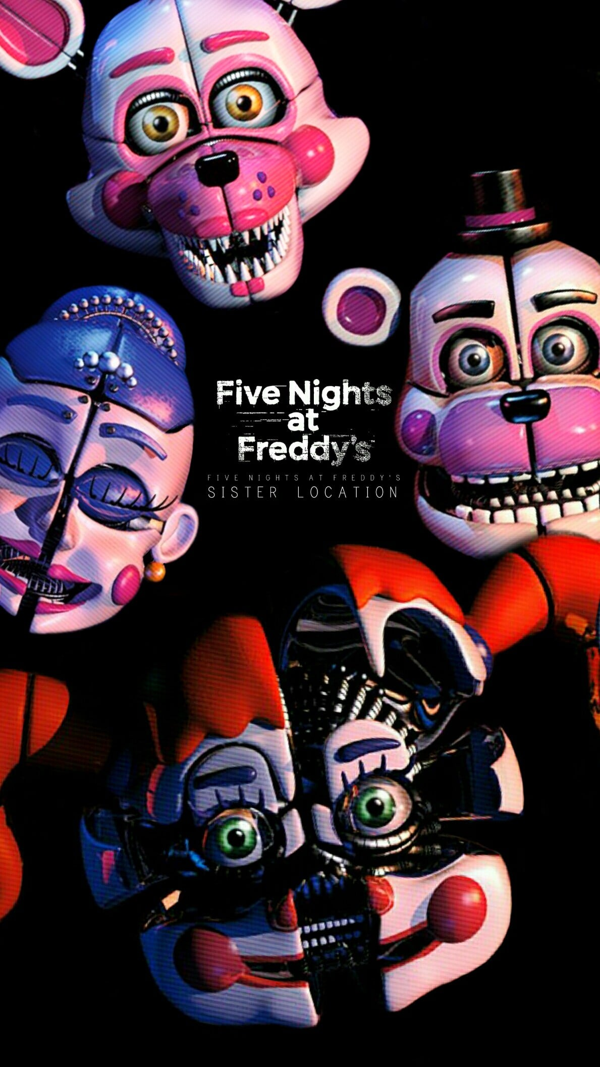 FNAF Sister Location Wallpapers