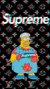 Funny Supreme Wallpaper