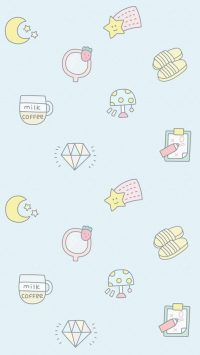 Kawaii Background Iphone