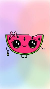 Kawaii Melon Wallpaper