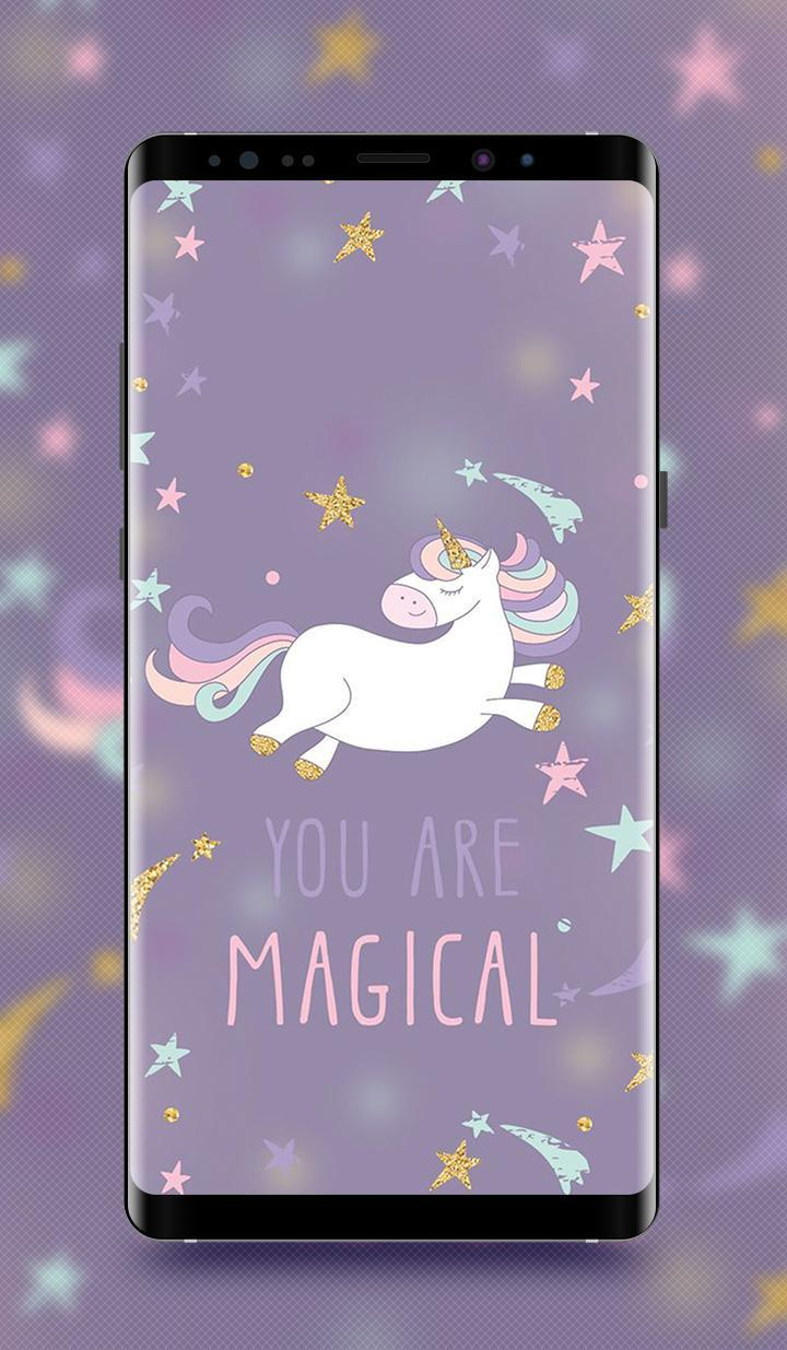 Kawaii Unicorn Wallpaper