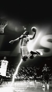 Miami Heat Wade Dunk Wallpaper
