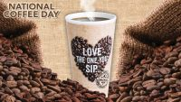 National Coffee Day HD Wallpaper