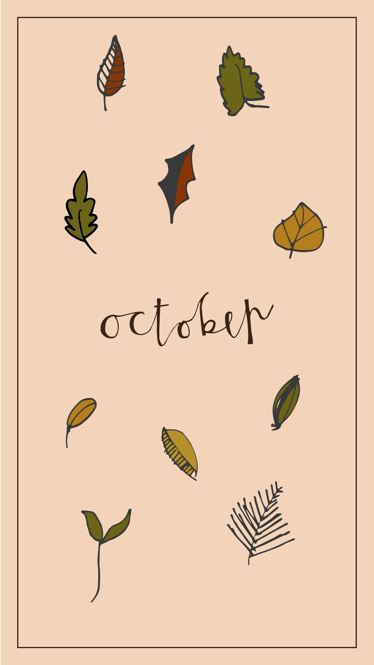October Leaves Wallpaper Kolpaper Awesome Free Hd Wallpapers