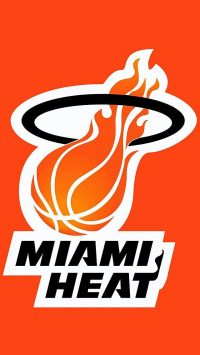 Orange Miami Heat Wallpaper