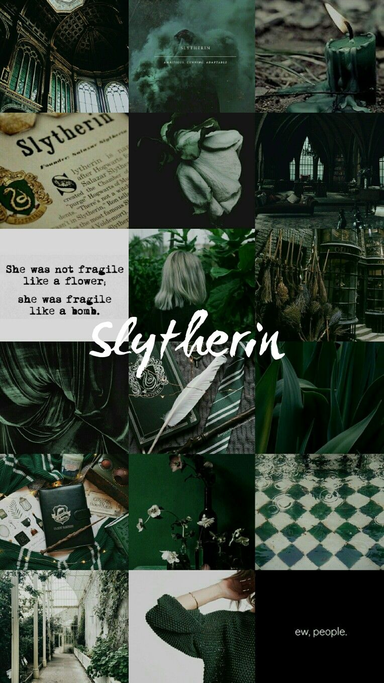 Slytherin Wallpaper Iphone