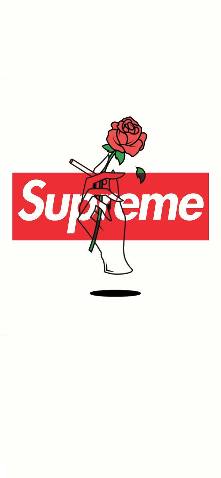 Supreme Red Rose Wallpaper