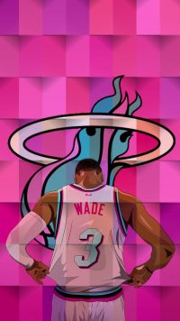 Wade Heat Wallpaper