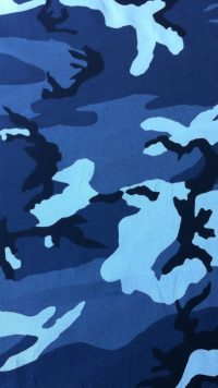 Wallpaper Blue Camo