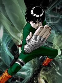 Wallpaper Rock Lee