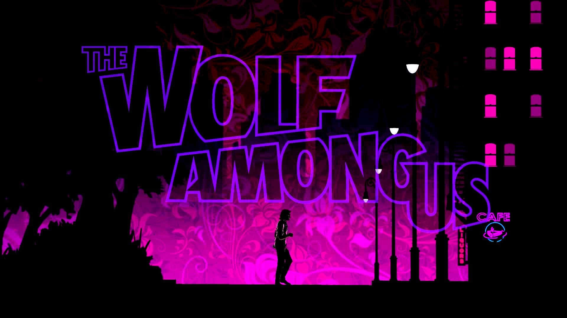 Wallpaper The Wolf Among Us