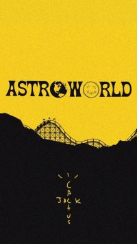 Yellow Astroworld Wallpaper