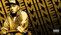 Yellow Eminem Wallpaper