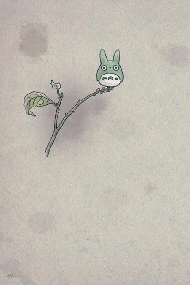 Cute Totoro Wallpaper 2
