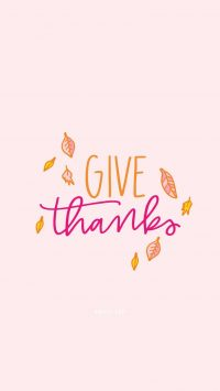 Give Thanks Wallpaper 3